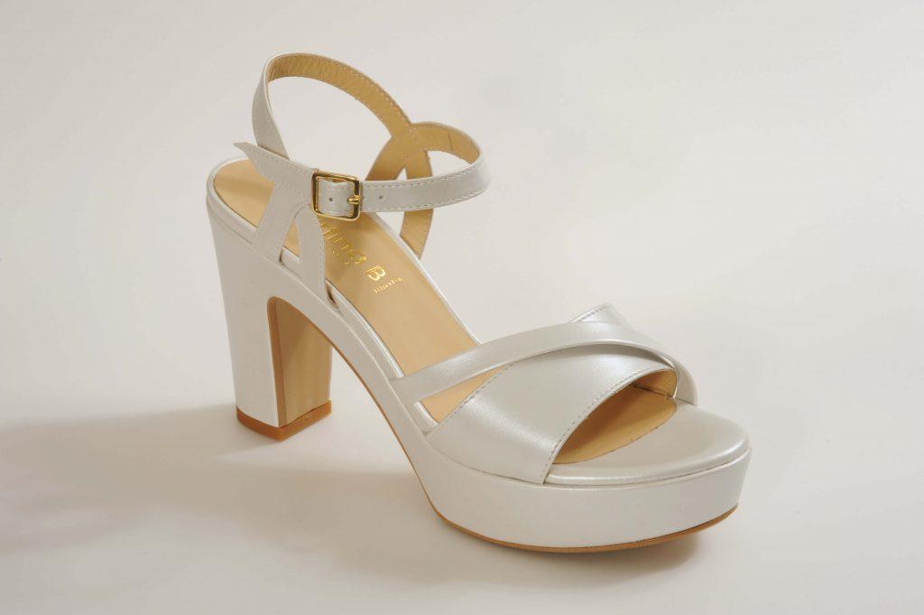 דגם RILEY נעלי כלה פלטפורמה