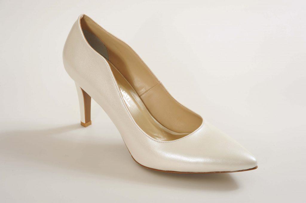 דגם ELLIE נעלי כלה עקב בינוני