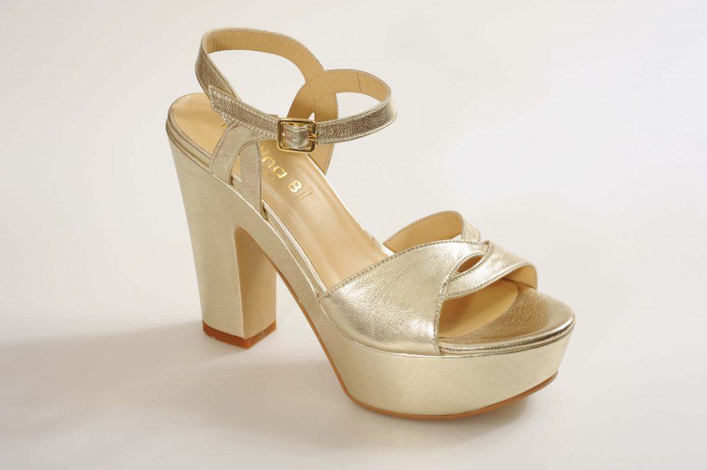 דגם ZOE נעלי כלה פלטפורמה