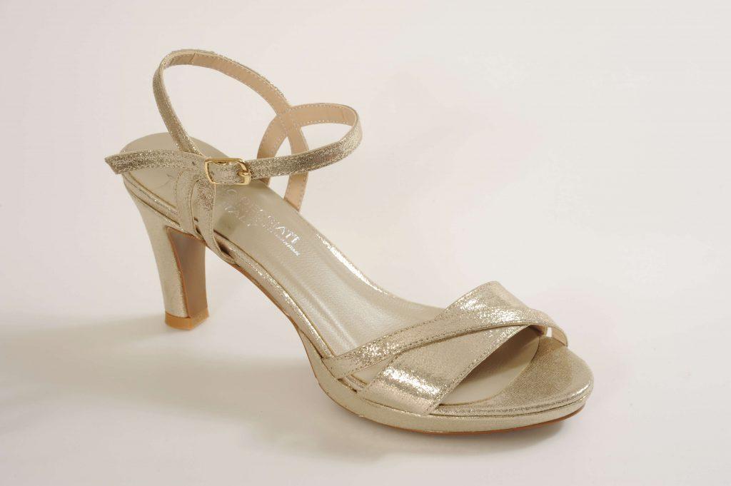 דגם LENA נעלי כלה עקב בינוני