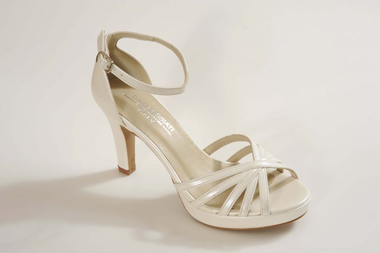 דגם VALENTINA נעלי כלה עקב בינוני