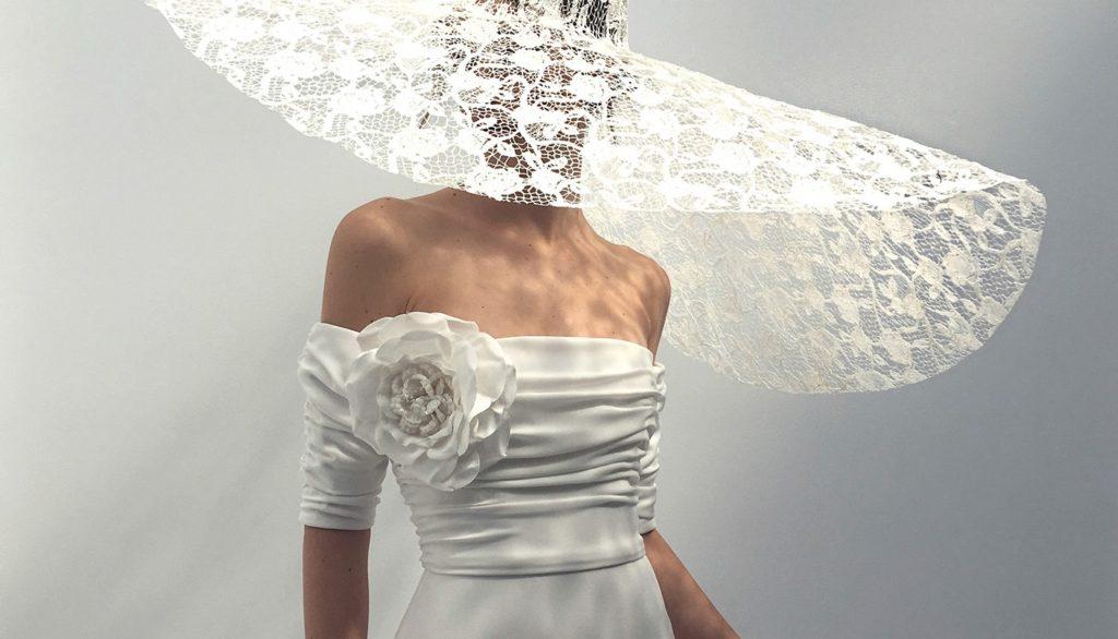 אלון לבנה שמלות כלה