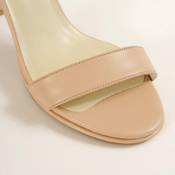 AVERY נעלי עקב בינוני נעלי כלה