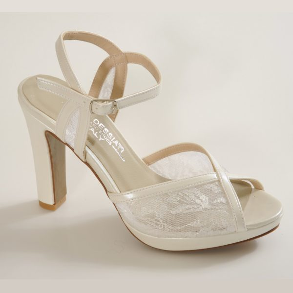 BROOKLYN נעלי כלה תחרה