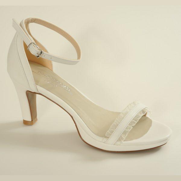 BELLA נעלי כלה עם תחרה