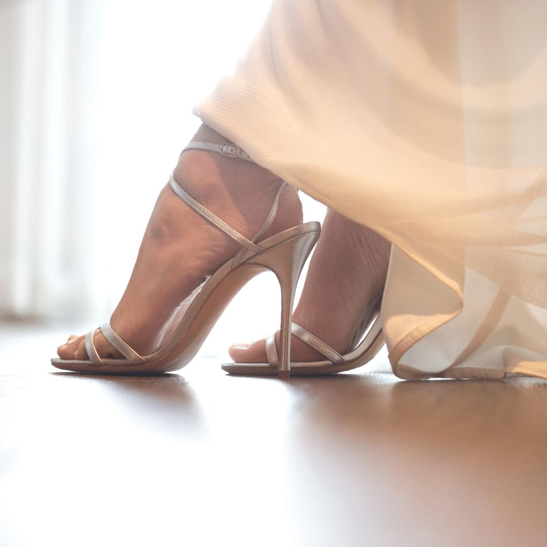 נעלי כלות עקב גבוה