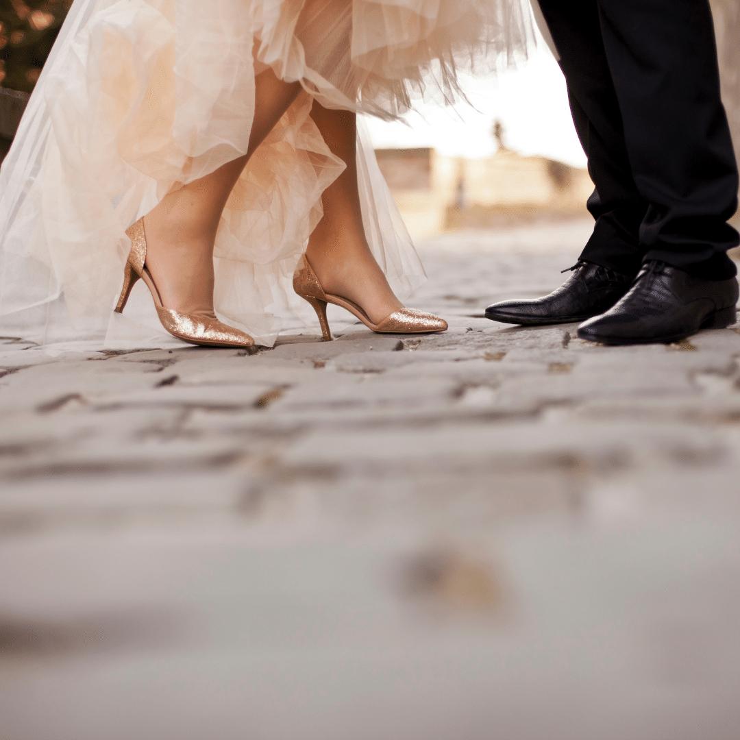 נעלי כלה עקב בונוני