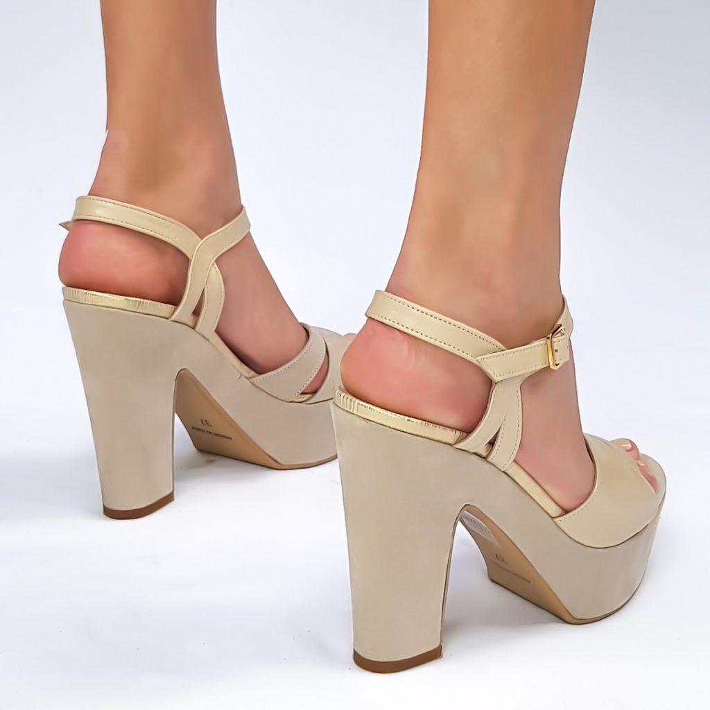 נעלי כלה פלטפורמה ארו