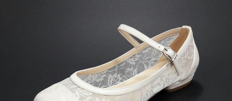 נעלי כלה שטוחות יפות ונוחות- רק בנעלי ארו