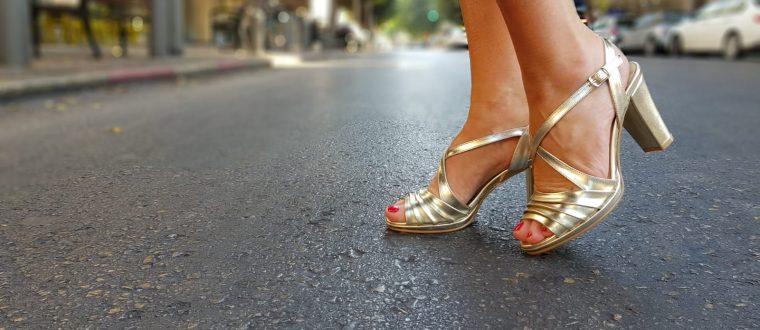 נעליים לבנות- למראה הכלתי הקלאסי